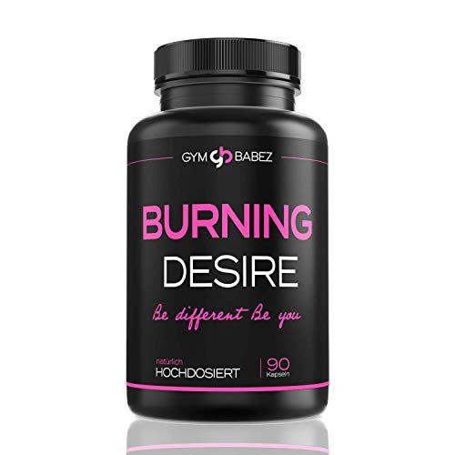 Burning Desire [Beliebt in der Diät] » Speziell für Frauen « F-Burn Woman Tabletten - Burner Pillen von Experten - Inkl. Ebook - 90 Kapseln (vegan)