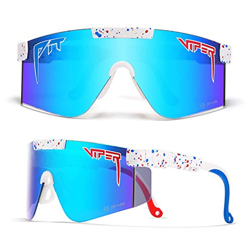 Pteng Ultraviolet raysolarized Cycling Glasses,AntiUV400 Sport Sunglasses for Baseball Running Fishing Driving Golf