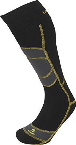 Lorpen Unisex T3+ Ski Polartec Warme Active Socken, Schwarz, Größe M
