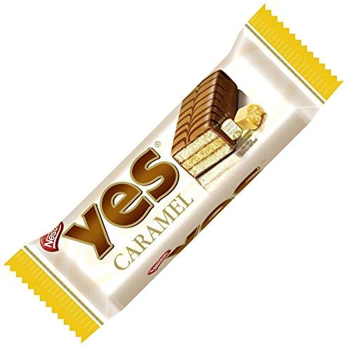 Nestle Yes Caramel Kuchenriegel 12 x 32 g, 1er Pack (12 x 0.032 kg)