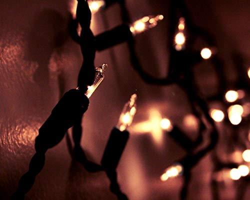 Kpoiuy PinturaporNúMeros para Adultos NiñOs Pintura por NúMeros con Pinceles Y Pinturas Decoraciones para El Hogar - Guirnalda Luz Sombra Vacaciones 16 * 20 Pulgadas