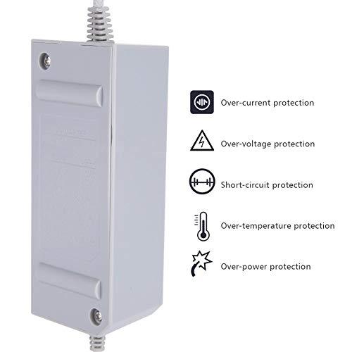 Wendry voeding, klein en gemakkelijk te transporteren, hoogwaardige materialen, meervoudige bescherming, nieuwe voedingskabel voor Nintendo Wii 110-240V, Ue