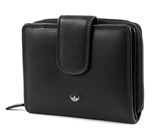 Golden Head Polo RFID Protect RV-Börse 12 cm schwarz