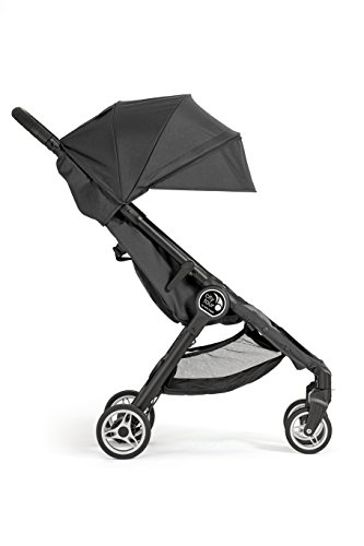 Baby Jogger City Tour Stroller   Compact Travel Stroller   Lightweight Baby Stroller with Backpack-Style Carry Bag, Perfect for Travel, Onyx