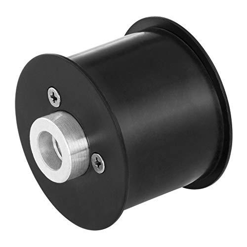 MSW Antriebsrolle Laufrolle Schleifband Führungsrolle für Rohrbandschleifer MSW-POLD57 (Gewinde: M14, Ø 57 mm, Bandbreite: 20 und 40 mm, für MSW-POL400AKKL und MSW-POL900L)