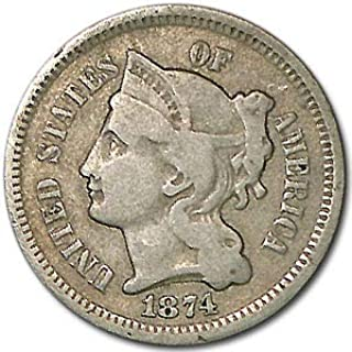 1874 3 cent