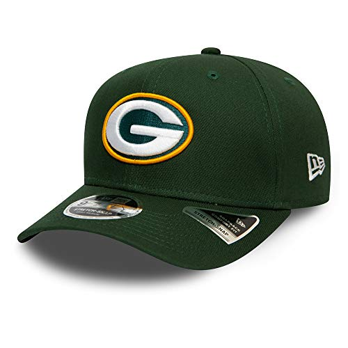 New Era Green Bay Packers 9fifty Stretch Snap Cap - NFL Team Stretch - Green - M - L