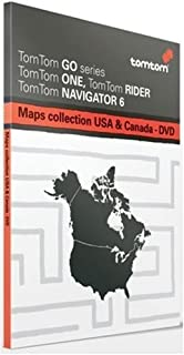 Tomtom Maps Of USA & Canada [Multiplatform DVD Use with any Tomtom GPS] [Old Version]