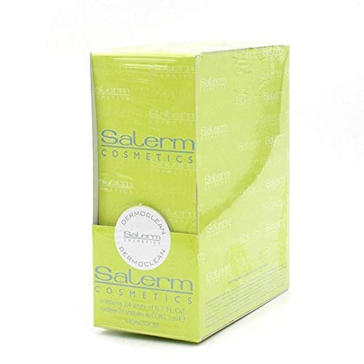 心理学じゃがいも彫刻Salerm 化粧品Dermoclean処理 - 1パックX 0.1オンス