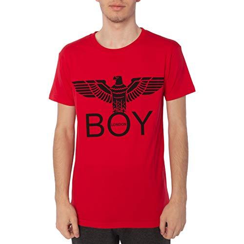BOY LONDON Maglietta in jersey G/C M/M -Stampa Colore: rosso M