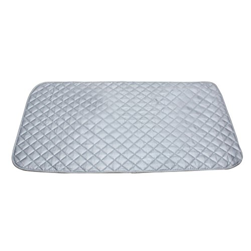 BESTOMZ Bügelunterlage Bügelbretter hitzebeständig bügelmatte Anti-Rutsch Abdeckungfür Tisch Dampfbügel