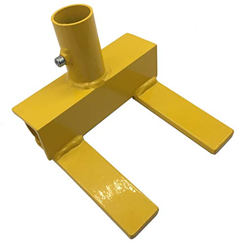 Pallet Buster | Deck Wrecker, Pallet Disassembly Tool | Deck Board Tool, Industrial Breaker for Removing or Tearing Down Woods of Pallet Projects & Deck Disassembly, Safety Yellow