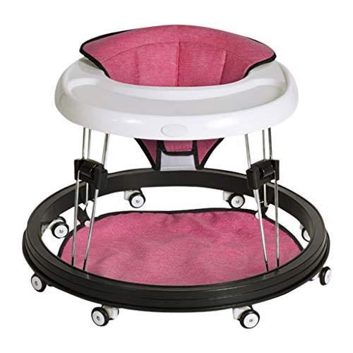 Hardloophulp voor baby's HUYP baby walker hand push kan zitten baby scooter jongen meisjes kinderen multifunctionele anti-rollover 6-18 maanden