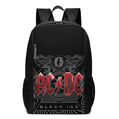 AC-DC - Mochila para niños, mochila escolar y portátil, para niños, adolescentes, regalo de fans