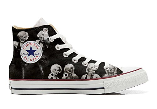Sneakers All Star Customized - Zapatos Personalizados (Producto Artesano) Foto Marylin - TG45