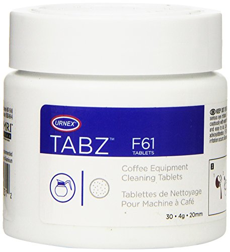 Urnex Tabz Coffee Brewer Cleaning Tablets, 30 Count