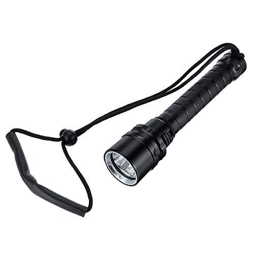 ExcLent Wiederaufladbare T6 Led Tauchen Taschenlampe Wasserdichte Unterwasser Schnorchel Taschenlampe
