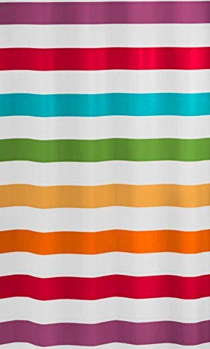 Kleine Wolke 5255148305 Duschvorhang Select, 180 x 200 cm, Multicolor
