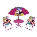 arditex- Ensemble de Jardin 4 en 1 modèle Minnie Mouse, WD12602, Multicolore
