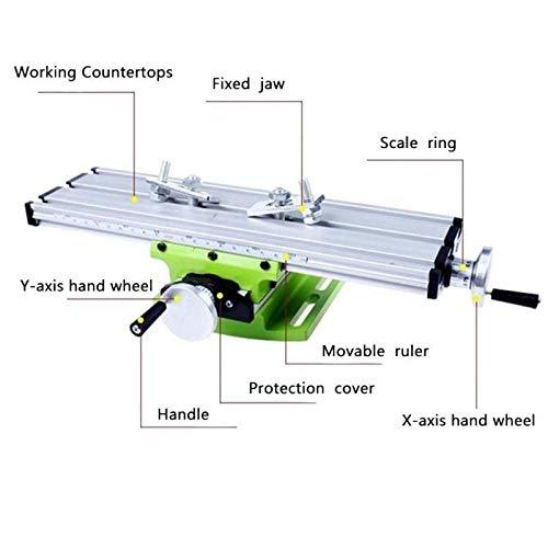 KANGF-TOOL, miniatuur precisie multifunctionele freestafel machine Boor Bench Vise Fixture werktafel aanpassing coördinaat Vise Bench