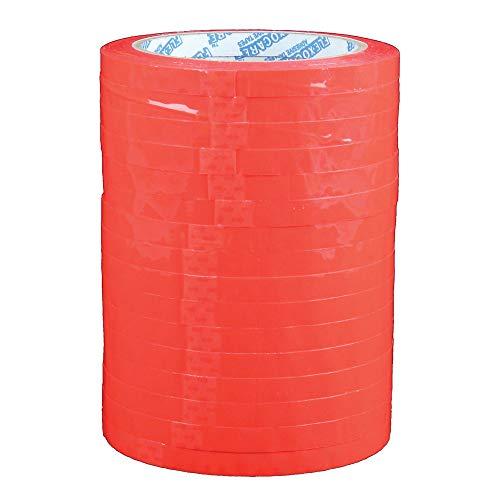 Klebeband für Beutelverschlussgerät Polypropylen 9 mm x 66 m Rot 16 Stück 922447