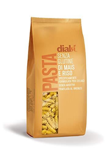 Dialsì Fusilli Pasta Senza Glutine di Mais e Riso - 1000 g