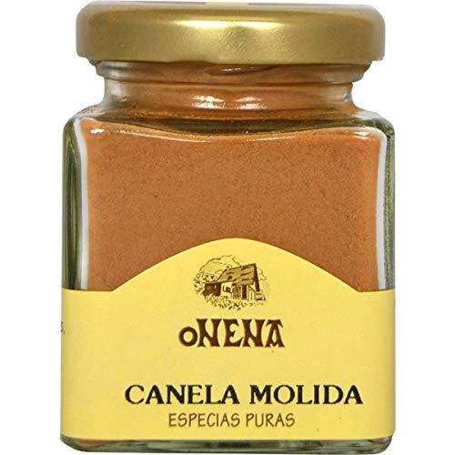 Onena - Canela Molida - Especias Puras - Esencial para Vino Caliente y Reposteria - 40 Gramos