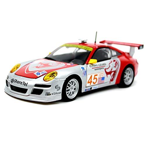 911GT3 Simulation Rennsport Legierung Automodell, 1:24 Modellauto, Statische Druckguss-Modell Spielzeugauto, Tür und Motorhaube Können Geöffnet Werden, Fertige Modelle, Autosammlung, Geschenke