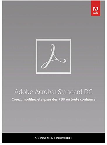 Adobe Acrobat Standard DC | Standard | 1 An | PC | Téléchargement