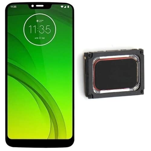 Kit Tela Display Lcd Touch Screen Motorola Moto G7 power Xt1955 + Alto Falante Campainha Motorola Moto G7 Power