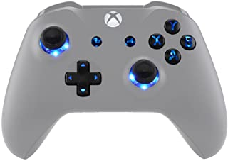 eXtremeRate Multi-Colors Luminated D-pad Thumbsticks Start Back ABXY Buttons (DTF) LED Kit for Xbox One Standard, Xbox One...