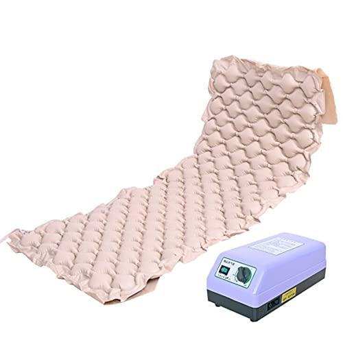 PHASFBJ Wechseldruckmatratze mit Kompressor, Anti Dekubitus Matratze Anti-Dekubitus Aufblasbare Matratze Pad Für Dekubitus Und Bett Wund Relief,Normal Pump