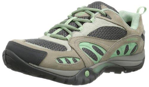 Merrell Damen Azura WTPF Trekking- & Wanderhalbschuhe, Grau (Grey/Mint), 39