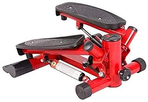 Paso hidráulico silencioso a Paso a Paso para máquinas de Adelgazamiento multifunción Brazo y Pierna Pedal Ejercitora Cinta de Correr de Bicicleta con Encaje 912 (Color: Rojo)