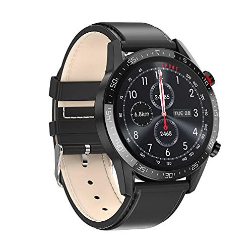KaiLangDe Smartwatch Reloj Inteligente con Pulsómetro Cronómetros Calorías Monitor de Sueño Podómetro Monitores de Actividad Impermeable Reloj Deportivo para Android iOS Pulsera (Color : A)