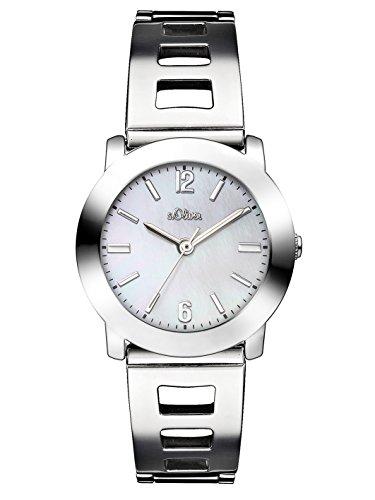 s.Oliver Time Damen-Armbanduhr SO-3306-MQ