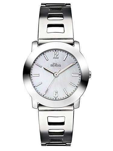 s.Oliver Time Damen-Armbanduhr SO-3306-MQ