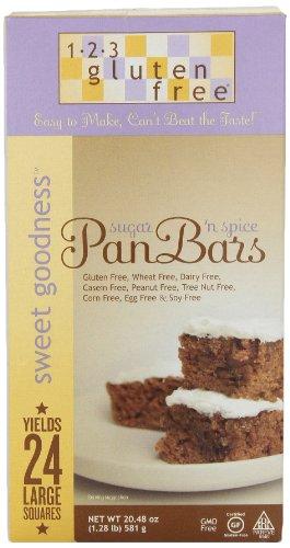 123 Gluten Free Pan Bar Mix Wheat And Gluten Free, 20.48 oz