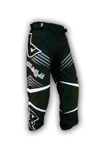 Alkali Hockey CA9 Rollerhose (schwarz/schwarz, Senior Small)