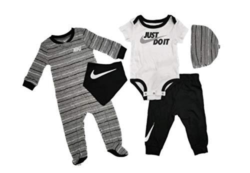 Nike JDI Stripe 5 Stück, Schwarz 68