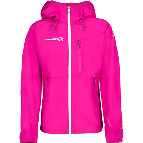 Rock Experience Damen Focus Jacke, Beetroot Purple-Marshmallow, L