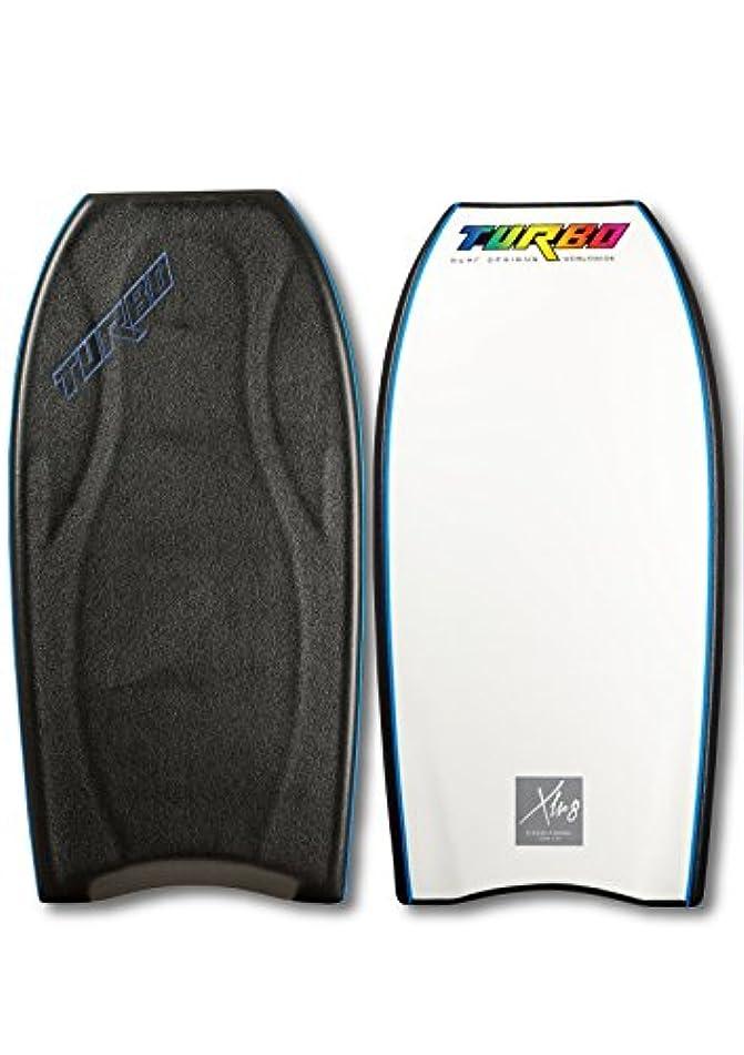 時代遅れ豚肉超高層ビルTurbo Surf Designs(ターボサーフデザイン) ボディボード アクセレイト クレセントテール 42インチ ブラック 4573201537157
