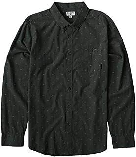 BILLABONG Mens M522VBAJ All Day Jaquard Long Sleeve Woven Shirt Long Sleeve Button Down Shirt