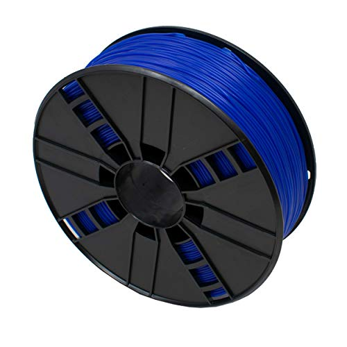 I-CHOOSE LIMITED Filament for 3D Printer Made from TPE Flexible 1.75mm 1Kg Blue Colour