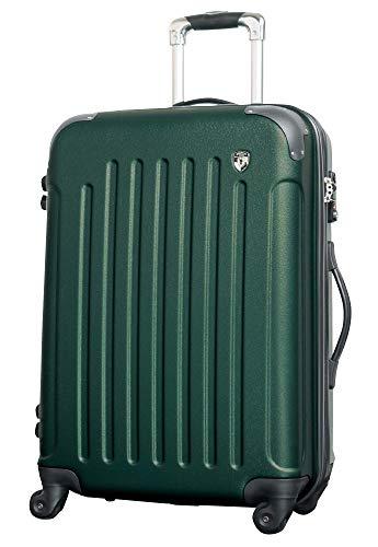 SS 【マットB】 フォレストグリーン / newFK10371 スーツケース キャリーバッグ 軽量 TSAロック 超軽量 機内持込 (1〜3日用) マット加工 ファスナー開閉タイプ