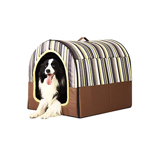 Hondenbedden, zachte warme 2 in 1 huisdier nest anti-slip hond kat bed opvouwbare winter zachte gezellige slaapzak mat pad kussens