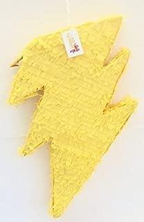 APINATA4U Yellow Lightning Bolt Pinata
