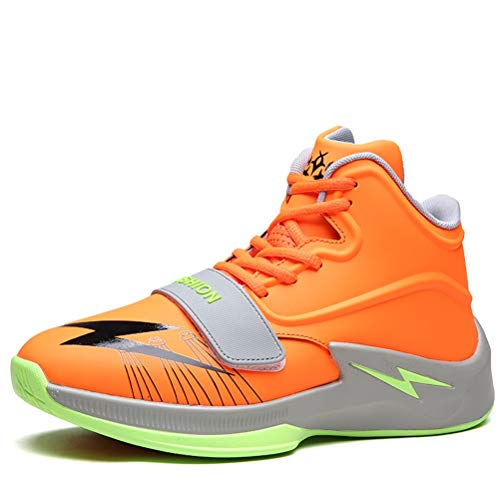 LFEU Herren Basketball Schuhe High Top Schnür Luftkissen Shock Atmungsaktiv rutschfeste Outdoor Sportschuhe