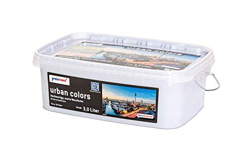 preismaxx urban colors Bunte Wandfarbe blau sky blue 3 Liter matt für Innen