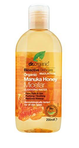 Dr. Organic Agua Micelar Miel Manuka 200Ml Dr. Organic 1 Unidad 300 g